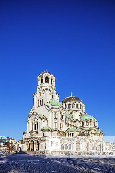 Alexander Nevsky Orthodox Cathedral  Sofia  Bulgaria  Europe