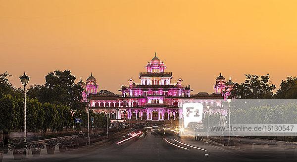 Albert Hall Museum  Jaipur  Rajasthan  India  Asia