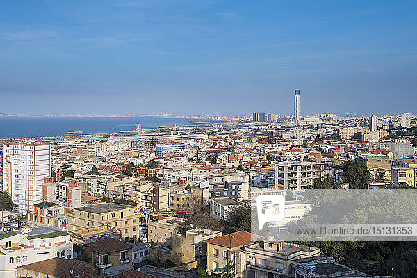 View over Algiers  Algeria  North Africa  Africa