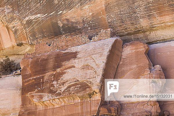 Pedestal Ruins  Ancestral Pueblito  Bears Ears National Monument  Utah  United States of America  North America