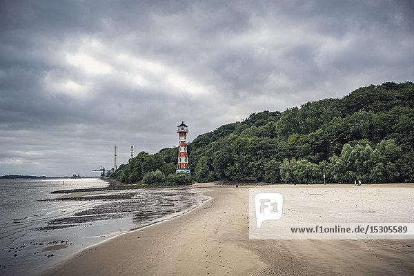 Rissener Ufer  Wittenbergen  Hamburg  Deutschland  Europa