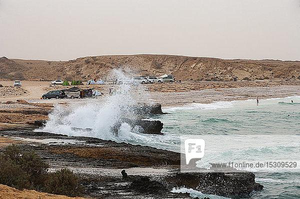 Strand bei Sur  Golf von Oman  Oman