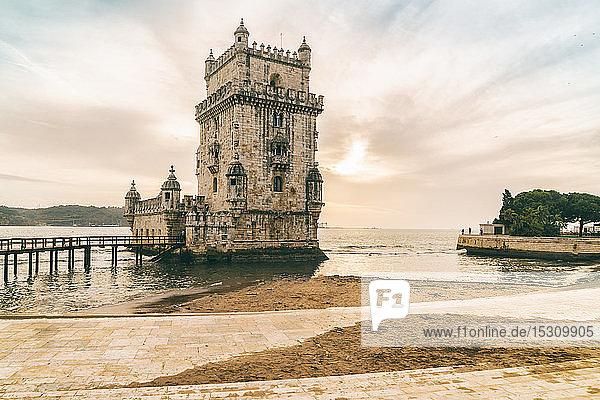 Belem-Turm in Lissabon  Portugal