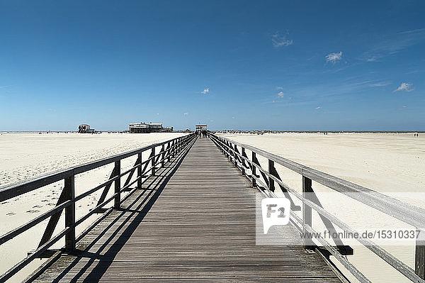 Deutschland  Schleswig-Holstein  Sankt Peter-Ording  Strandpromenade