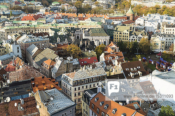 View of the old town of Riga  Latvia