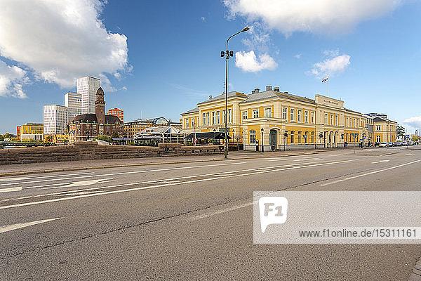 Sweden Malmo  Town center