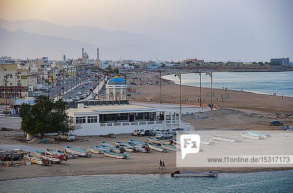 Strand am Abend  Sur  Oman
