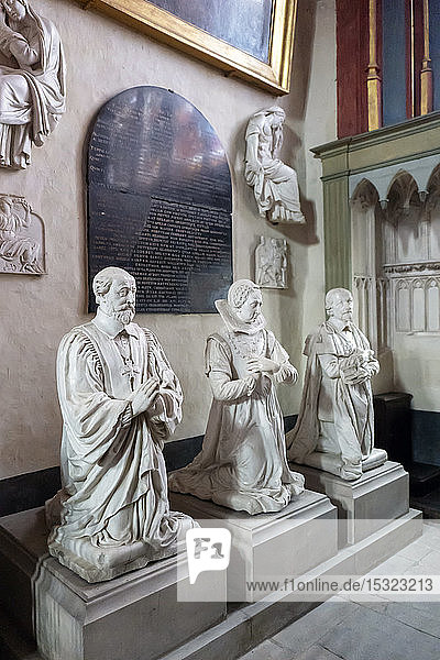 Europe  France  Cher  Bourges  Saint Etienne cathedral  mausoleum of the Laubespine family