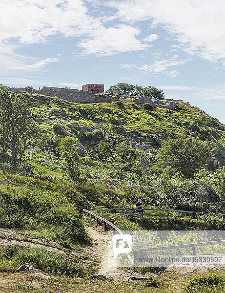 Hill at Bornholm in Denmark Hill at Bornholm in Denmark