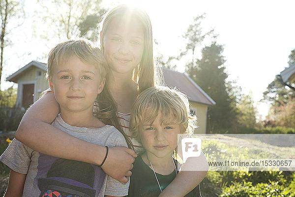 Siblings in sunlight Siblings in sunlight
