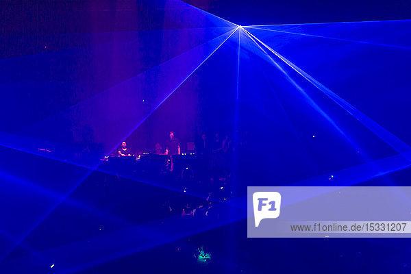 Illuminating equipment in nightclub in Amsterdam  Nederlands Illuminating equipment in nightclub in Amsterdam, Nederlands