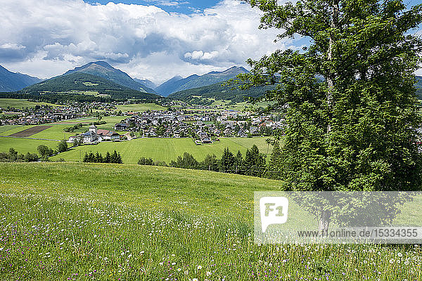 Austria  UNESCO's Biosphere Reserve Salzburg's Lungau  Tamsweg is a market town in the Austrian state of Salzburg  the town from St. Leonhardhill