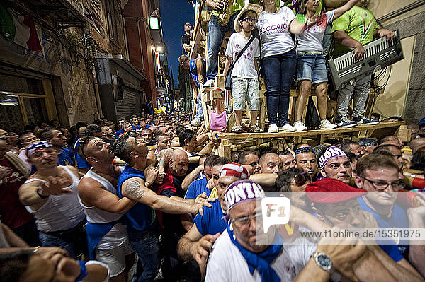 Festa dei Gigli (Festival of Lilies)  Religious festival  Nola  Naples  Campania  Italy  Europe