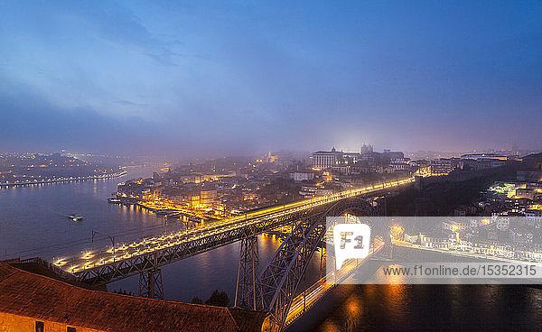 Ponte Dom LuÃs I Ã?ber den Douro  Porto  Portugal