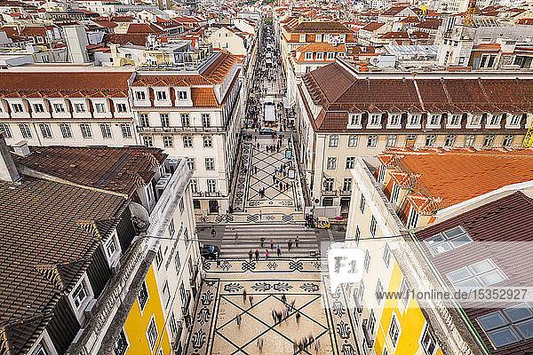 Rua Augusta  Lissabon  Portugal