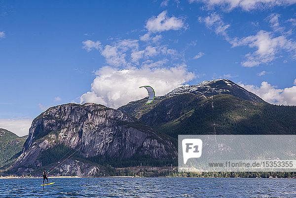 Kitesurfen  Squamish  Kanada