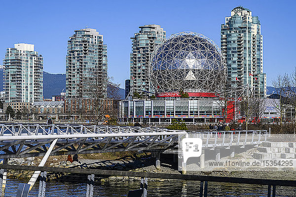 Science World at Telus World of Science; Vancouver  British Columbia  Canada
