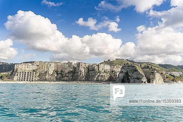City view of Tropea  Calabria  Italy  Europe