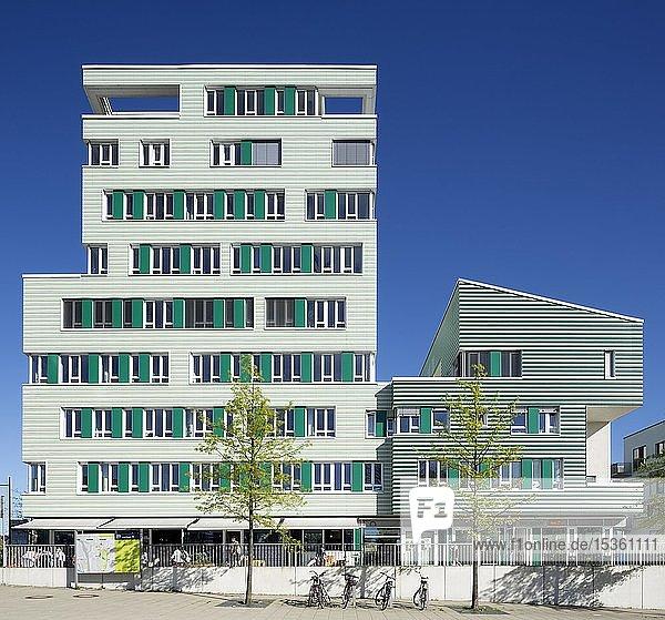 Wilhelmsburger Ärztehaus  Internationale Bauausstellung Hamburg  IBA  Wilhelmsburg  Hamburg  Deutschland  Europa