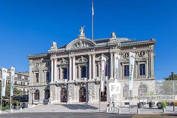 Grand Théâtre de Genève  Genf  Schweiz  Europa