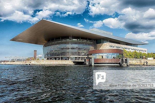Königliche Oper auf der Insel Holmen  Kopenhagen  Dänemark  Europa