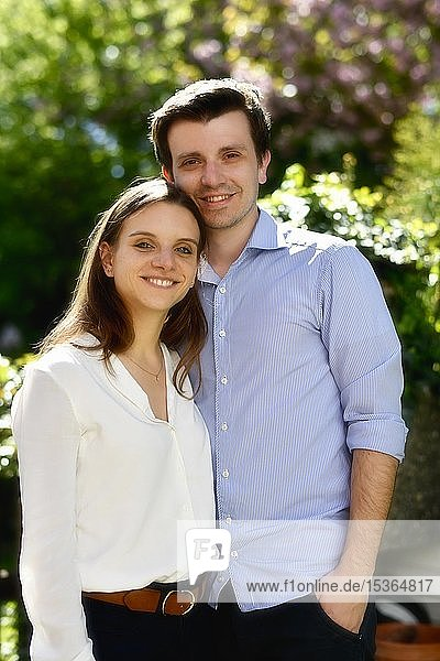 Young couple  Baden-Württemberg  Germany  Europe