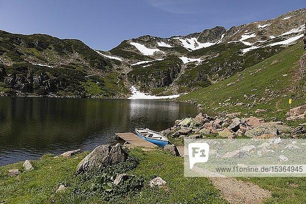Wildseelodersee  1854m  Fieberbrunn  Kitzbüheler Alpen  Tirol  Österreich  Europa