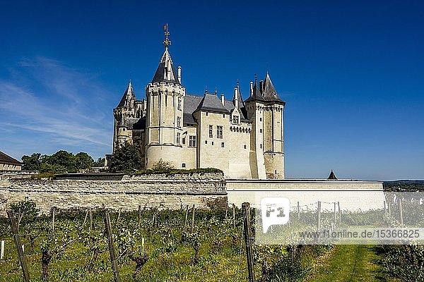 Château de Saumur  Saumur  Department Maine-et-Loire  Frankreich  Europa