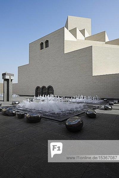 Museum of Islamic Art  Architekt I.M.Pei  Doha  Katar  Asien