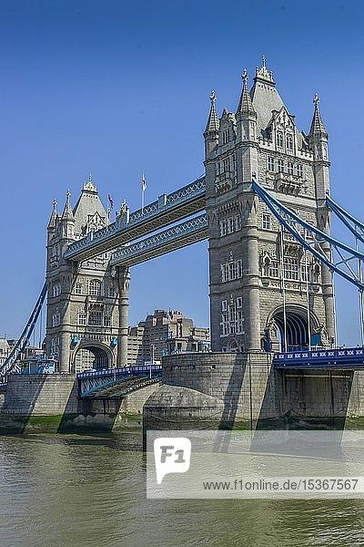 Tower Bridge  London  England  Großbritannien  Europa