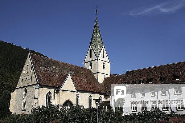 Klosterkirche  Blaubeuren  Schwäbische Alb  Baden-Württemberg  Deutschland  Europa