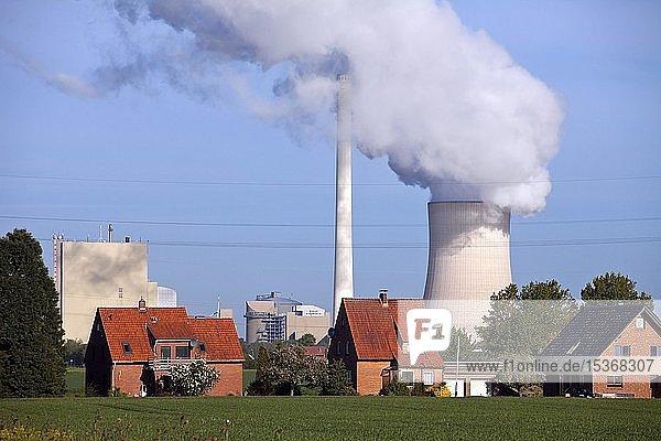 Kraftwerk Heyden  Steinkohlekraftwerk  Klimaerwärmung  Kohleausstieg  Petershagen  Nordrhein-Westfalen  Deutschland  Europa