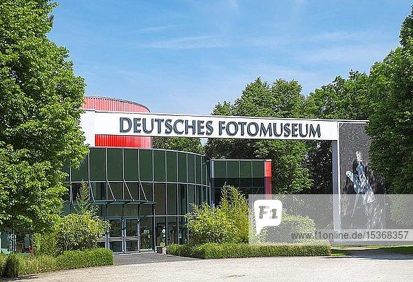 Deutsches Fotomuseum  Herfurth'scher Landschaftspark im agra-Park  Markkleeberg  Sachsen  Deutschland  Europa