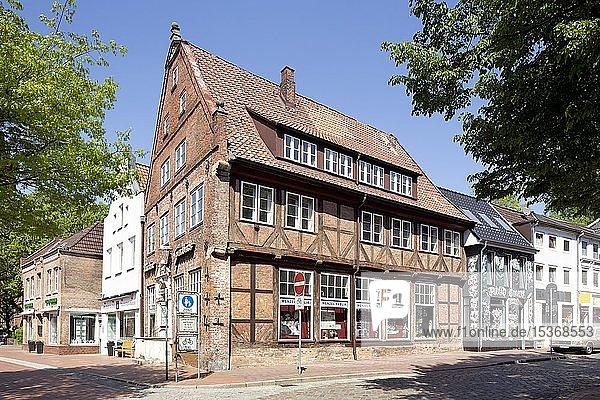 Historisches Bürgerhaus  Breite Straße  Itzehoe  Schleswig-Holstein  Deutschland  Europa