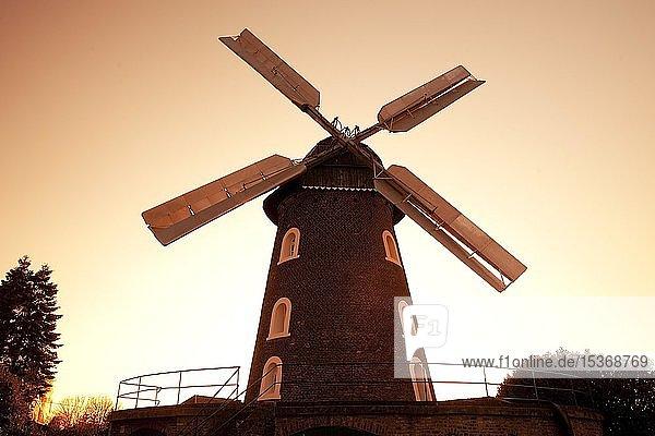 Scholten-Mühle  Rees  Niederrhein  Nordrhein-Westfalen  Deutschland  Europa
