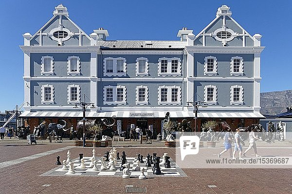 African Trading Port Shop  waterfront  Cape Town  Western Cape  South Africa  Africa