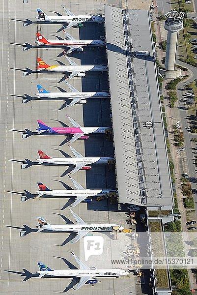 Airbus Werk  Flughafen Finkenwerder  Hamburg  Deutschland  Europa