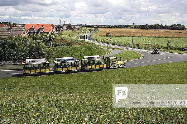 Erlebnisbahn bei Norden  Ostfriesland  Deutschland  Europa
