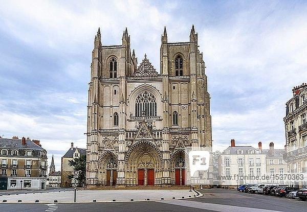 Nantes  Kathedrale Saint-Pierre et Saint-Paul  ile de Nantes  Loire Atlantikkarte  Pays de la Loire  Frankreich  Europa