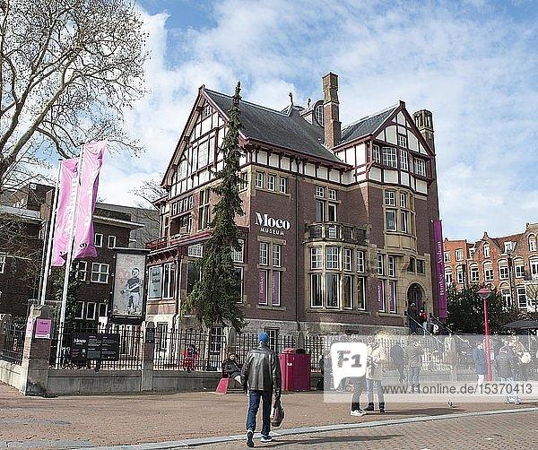 Moco Museum  Museumplein  Amsterdam  Nordholland  Niederlande  Europa
