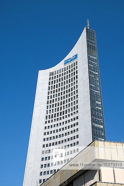 City-Hochhaus  Leipzig  Sachsen  Deutschland  Europa