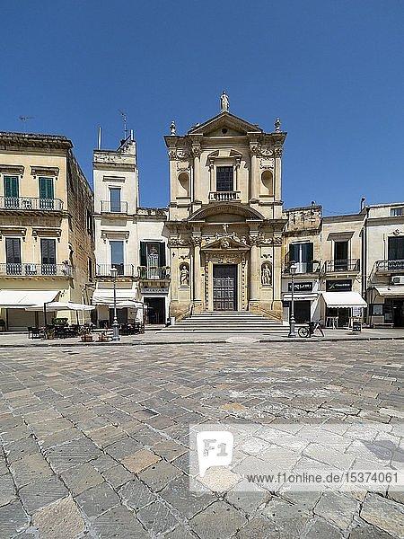 Altstadt  Lecce  Apulien  Italien  Europa