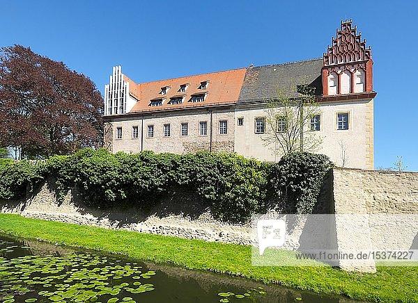 Schloss Trebsen  Trebsen  Sachsen  Deutschland  Europa