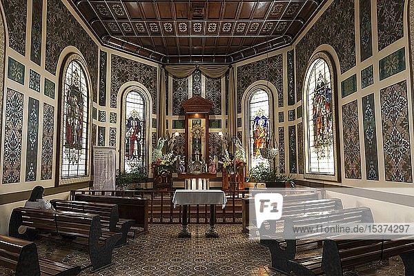Innenansicht  Seitenaltar  Kathedrale in Cartago  Basilika Nuestra Señora de los Ángeles  Cartago  Provinz Cartago  Costa Rica  Mittelamerika