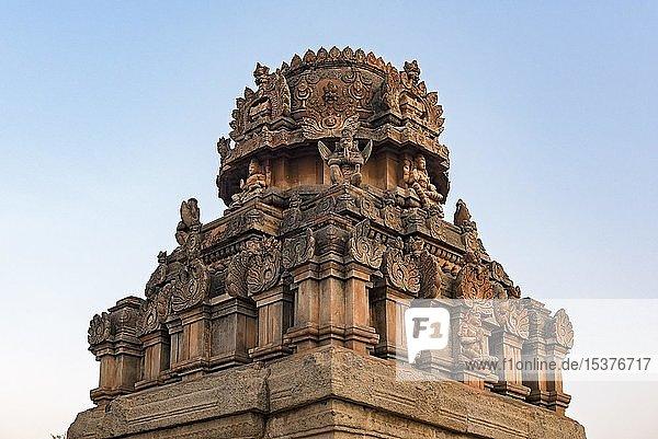Sri Krishna Tempel  Hampi  Indien  Asien