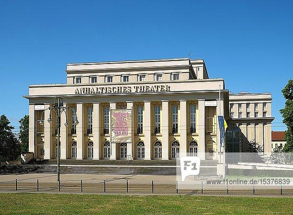 Anhaltisches Theater  Theater und Oper  Dessau  Sachsen-Anhalt  Deutschland  Europa