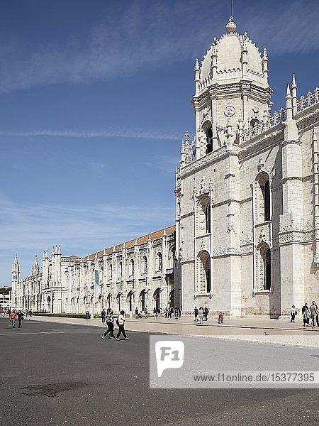 Mosteiro dos Jerónimos  Hieronymuskloster  UNESCO-Weltkulturerbe  Belém  Lissabon  Portugal  Europa