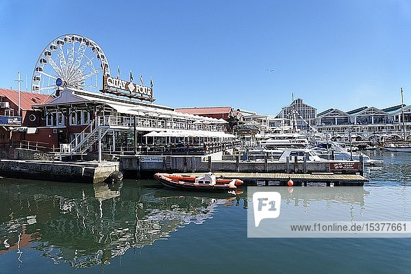 Quay Four waterfront  Marina  Cape Town  Western Cape  South Africa  Africa