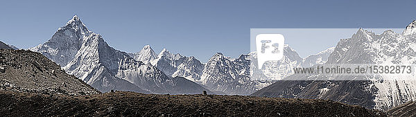 Ama Dablam  Sagarmatha-Nationalpark  Everest-Basislager-Trek  Nepal