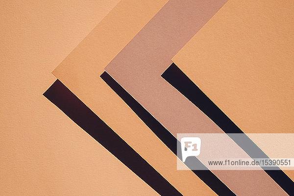 Abstrakter orangefarbener Hintergrund und Textur